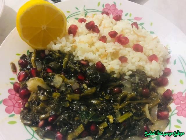 طريقة عمل حمسة السبانخ لذيذة من وصفات الحمسات اللذيذه للريوق وللفطور وللعشاء-homemade arabic breakfast ideas food recipes