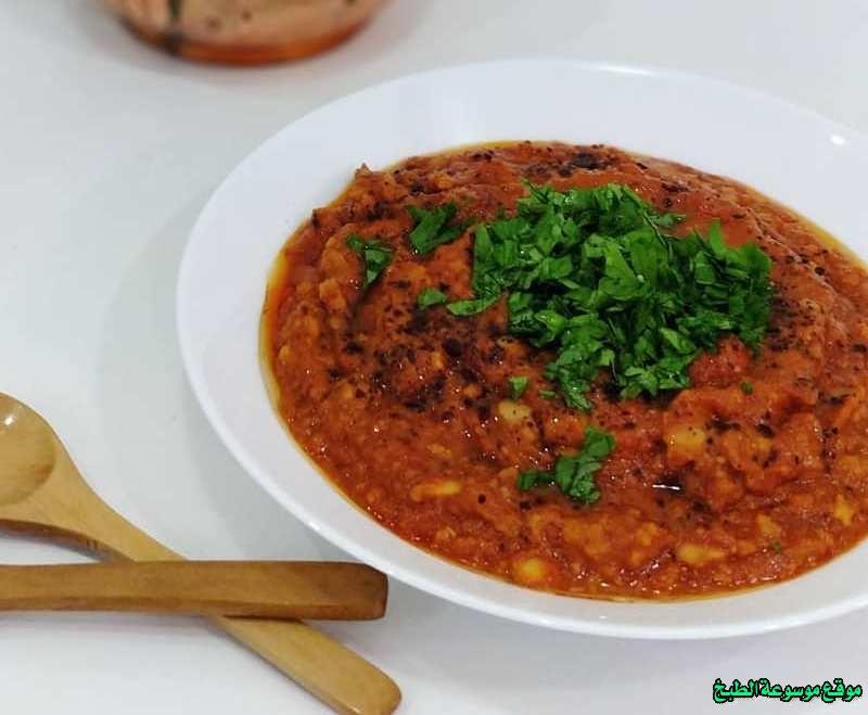 طريقة عمل حمسة فول لذيذة من وصفات الحمسات اللذيذه للريوق وللفطور وللعشاء-homemade arabic breakfast ideas food recipes