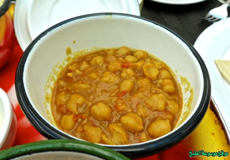 طريقة عمل حمسة النخي لذيذة من وصفات الحمسات اللذيذه للريوق وللفطور وللعشاء-homemade arabic breakfast ideas food recipes
