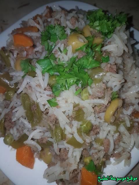 طريقة عمل طريقة عمل سلطة الارز الجزائرية أكلة شعبية تقليدية بالصور-traditional food recipes cuisine recette