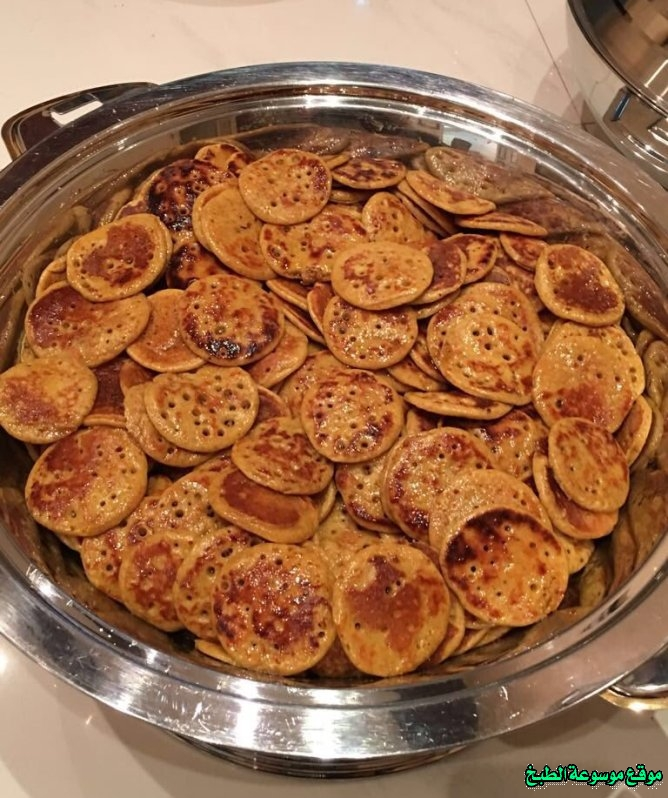 al massabeb recipes in arabic-طريقة عمل مصابيب حايل رغفان وتسمى المراصيع - المراقيش - المصابيب - الرغفان - مراهيف