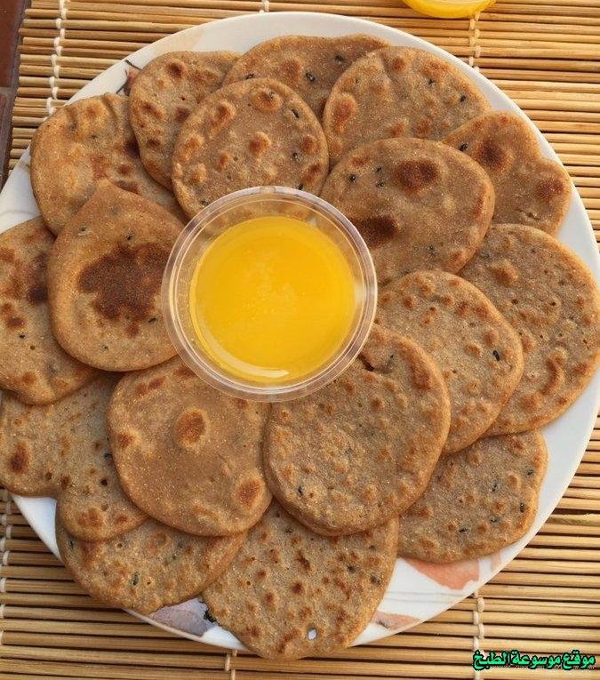 al massabeb recipes in arabic-طريقة عمل مصابيب بر للنفاس وتسمى المراصيع - المراقيش - المصابيب - الرغفان - مراهيف