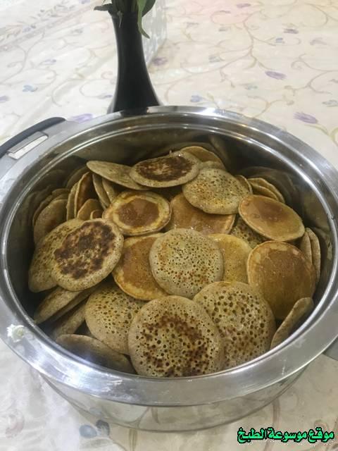 al massabeb recipes in arabic-طريقة عمل المصابيب السريعه وتسمى المراصيع - المراقيش - المصابيب - الرغفان - مراهيف