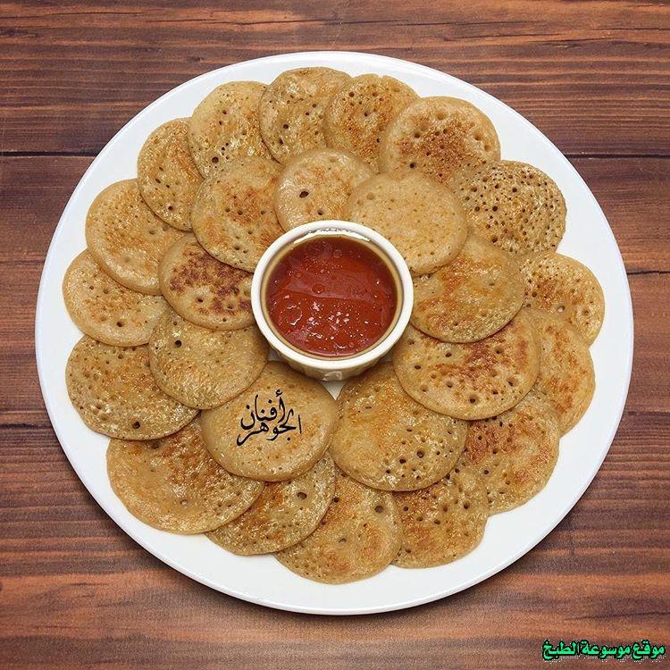 al massabeb recipes in arabic-طريقة عمل مصابيب أفنان الجوهر وتسمى المراصيع - المراقيش - المصابيب - الرغفان - مراهيف