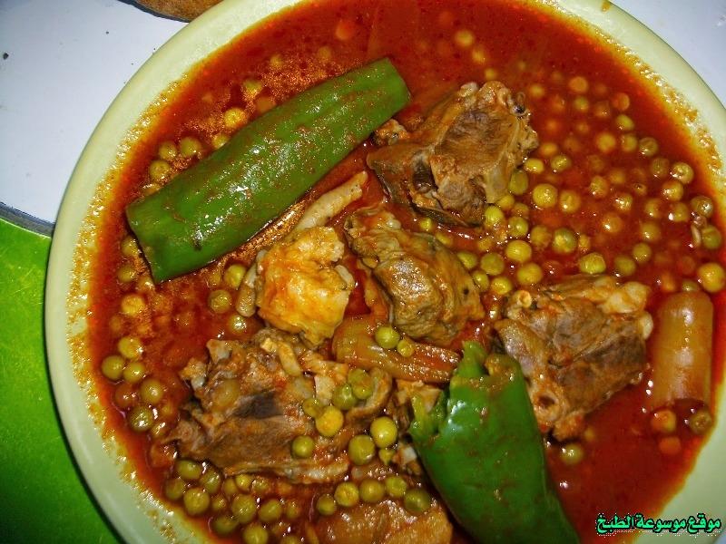 طريقة عمل جلبانة لحم علوش التونسي أكلة تونسية شعبية تقليدية بالصور-traditional food recipes cuisine tunisienne recette