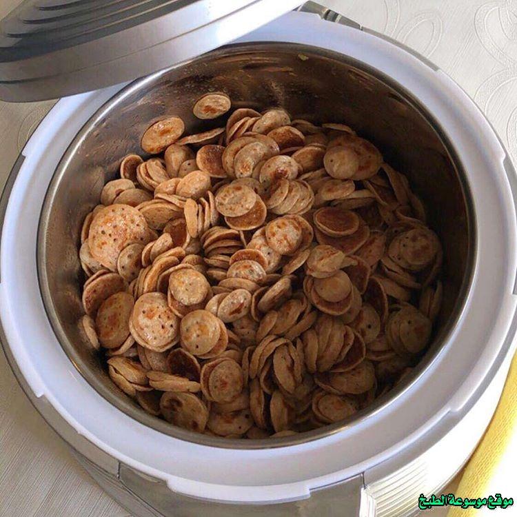 al massabeb recipes in arabic-طريقة عمل ميني مصابيب عبير العميرة وتسمى المراصيع - المراقيش - المصابيب - الرغفان - مراهيف