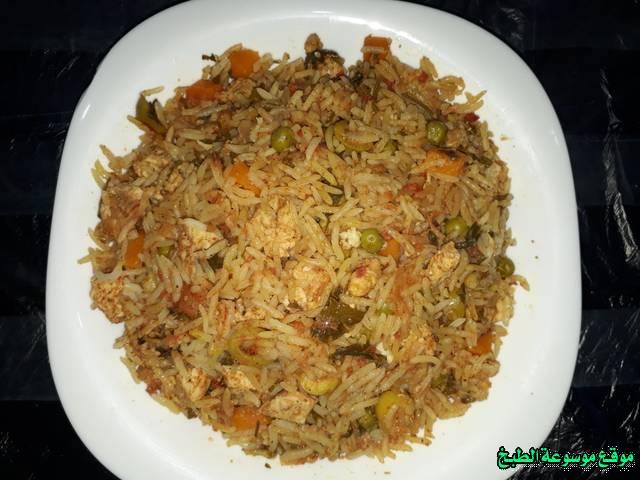 طريقة عمل الارز الجربى التونسى أكلة تونسية شعبية تقليدية بالصور-traditional food recipes cuisine tunisienne recette