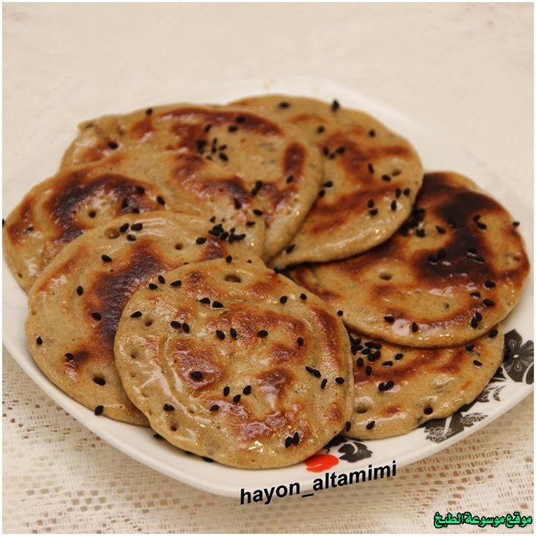 al massabeb recipes in arabic-طريقة عمل المصابيب هيا التميمي وتسمى المراصيع - المراقيش - المصابيب - الرغفان - مراهيف