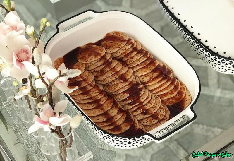 al massabeb recipes in arabic-طريقة عمل مصابيب عواطف ام صبا وتسمى المراصيع - المراقيش - المصابيب - الرغفان - مراهيف