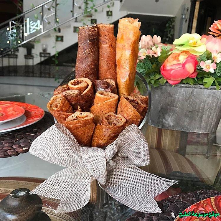 al massabeb recipes in arabic-طريقة عمل مصابيب هيفاء السليمان وتسمى المراصيع - المراقيش - المصابيب - الرغفان - مراهيف