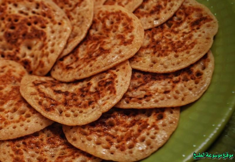 al massabeb recipes in arabic-طريقة عمل مصابيب مشاعل الطريفي وتسمى المراصيع - المراقيش - المصابيب - الرغفان - مراهيف