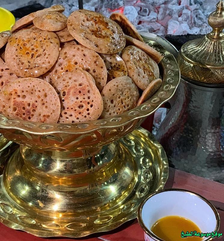 al massabeb recipes in arabic-طريقة عمل مصابيب مها الصيعري وتسمى المراصيع - المراقيش - المصابيب - الرغفان - مراهيف