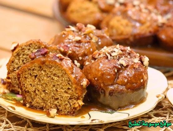 صورة وصفة كيفية طريقة تحضير وعمل حلى منزلي حلى بودينغ التمر سهل ولذيذ وسريع pictures arabian homemade desserts recipes candy in arabic sweets easy