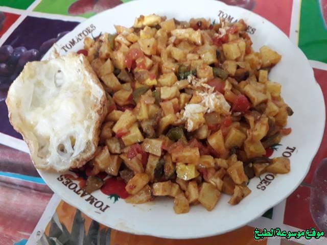 طريقة عمل الكفتاجي أكلة تونسية شعبية تقليدية بالصور-traditional food recipes cuisine tunisienne recette