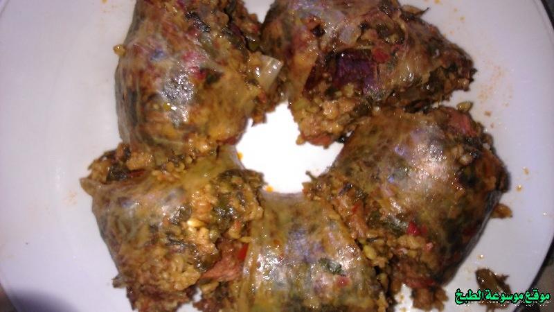 طريقة عمل العصبان التونسي أكلة تونسية شعبية تقليدية بالصور-traditional food recipes cuisine tunisienne recette
