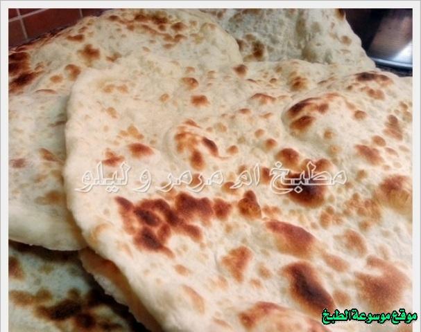 خبز التنور العراقي بالصور خطوة بخطوة