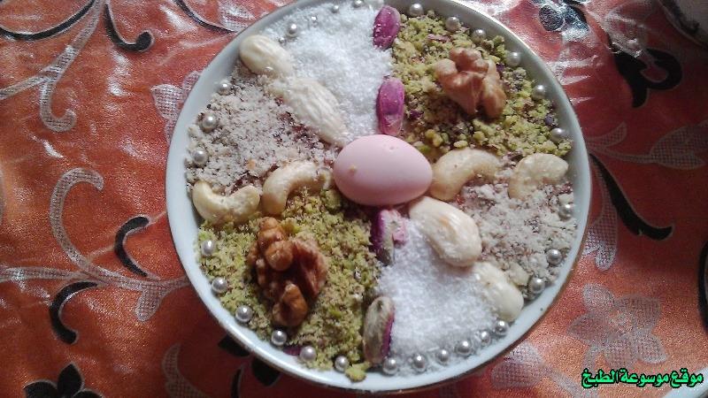 طريقة عمل عصيدة الزقوقو على الطريقة التونسية أكلة تونسية شعبية تقليدية بالصور-recette 3sidet zgougou tunisienne food recipes cuisine