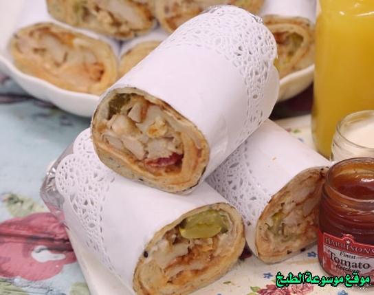 -sandwich recipe-طريقة عمل ساندوتش دجاج بروستد بالفرن بالخبز المنزلي فروحه الامارات خطوه خطوه بالصور