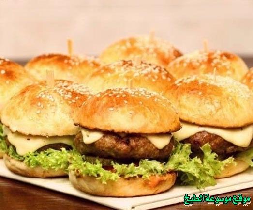 -sandwich recipe-طريقة عمل ساندويتش برجر اللحم فروحه الامارات خطوه خطوه بالصور
