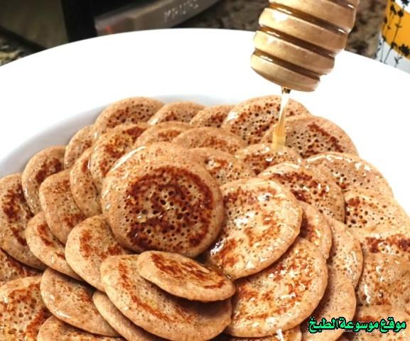 al massabeb recipes in arabic-طريقة عمل المصابيب بالبر وتسمى المراصيع - المراقيش - المصابيب - الرغفان - مراهيف